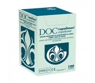 Guanti Sterili in Copolimeri - 100pz. - Confezionati Singolarmente MakeUp Supply
